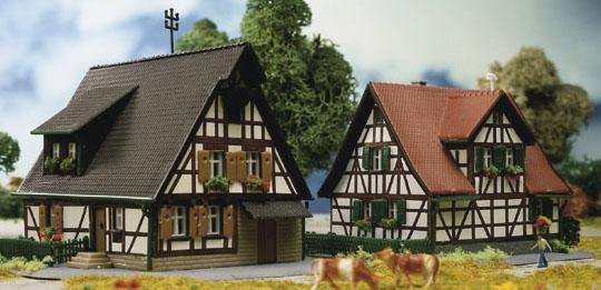 Kibri 36406 - 2 Timber Framed Houses
