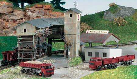 Kibri 36603 - Z Gravel plant Steiner