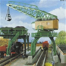 Kibri 36738 - Coal tower & travel crane