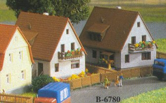 Kibri 36780 - Z Settlement house from the 1930´s, 2 pieces