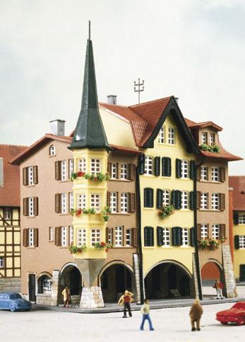 Kibri 36801 - Z Town houses Biel, 3 pieces