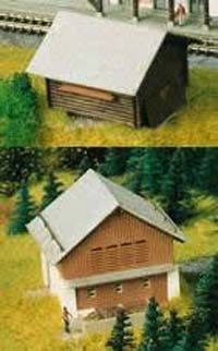 Kibri 36817 - Z Stable with barn in Elm