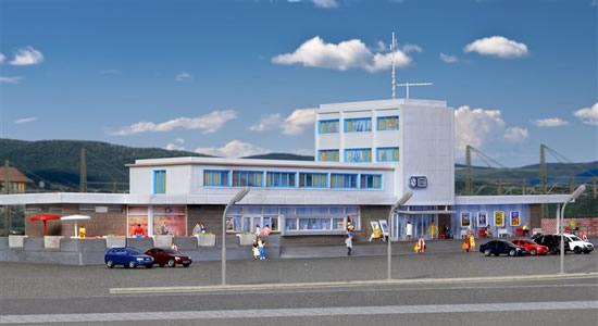 Kibri 37400 - N Station Böblingen incl. floor interior lighting,functional kit