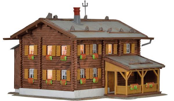 Kibri 38004 - Building Sonnenhalde incl. house illumination Starter Set