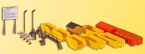 Kibri 38155 - Material yard