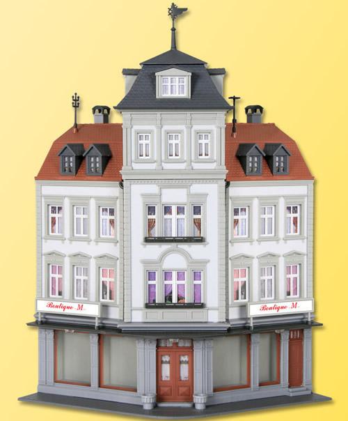 Kibri 38390 - H0 Corner terrace house of fashion