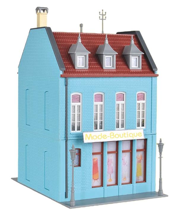 Kibri 38394 - H0 Town house with fashion boutique in Düsseldorf
