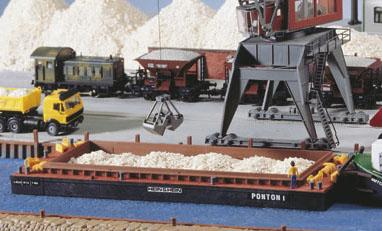Kibri 38524 - H0 Lighter for bulk goods or container