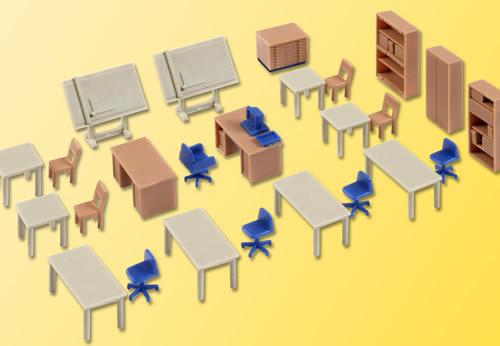 Kibri 38655 - Office Furniture Tech