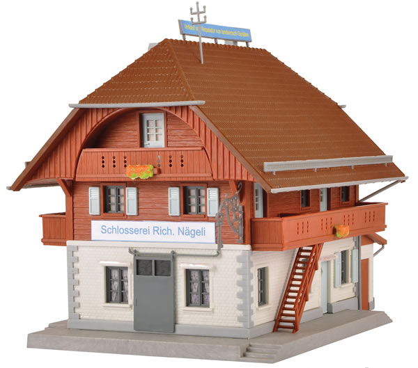Kibri 38800 - H0 Locksmiths shop Nägeli