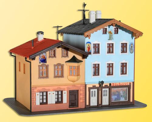 Kibri 38818 - H0 Town house and bookshop in Tölz