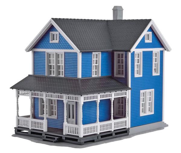 Kibri 38841 - H0 Swedish house, blue