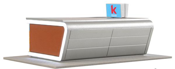 Kibri 39008 - H0 Modern kiosk incl. LED lighting