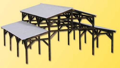 Kibri 39095 - Wooden shelter kit