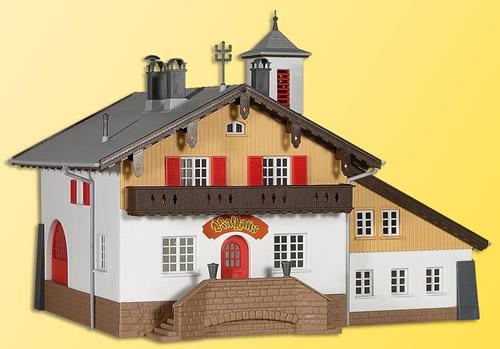Kibri 39214 - H0 Fire brigade and community building