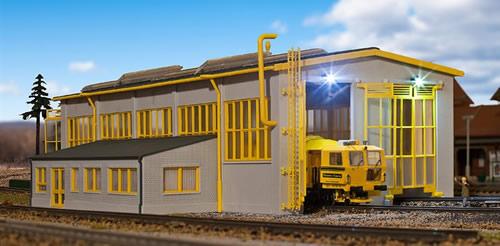 Kibri 39324 - Maintance of Way track machine shed -Kit