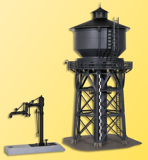 Kibri 39328 - Water Tower w/Water Spout