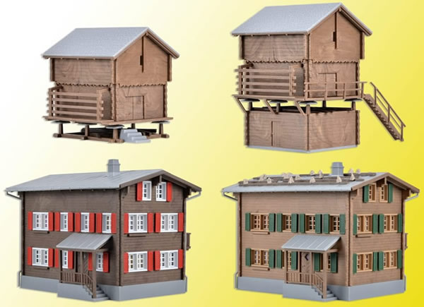 Kibri 39495 - H0 Set Walser-village