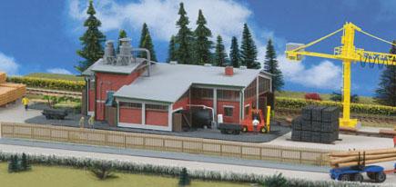 Kibri 39816 - Sawmill with Interior