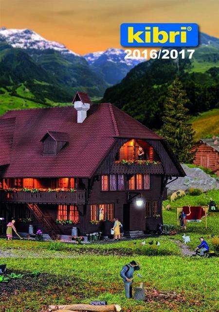 Kibri 99904 - 2016/2017 Kibri Catalog
