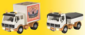HO Truck for funfair trailers - 2 pieces