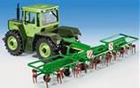 MB Tractor w/Spining Rake