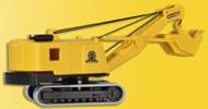 N MENCK excavator with face shovel