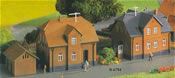 Z Company dwelling, 2 pieces with one annexe