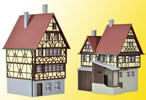 N Half-timbered house with gatehouse