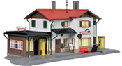 Trainstation Maienfeld including house illumination starter set