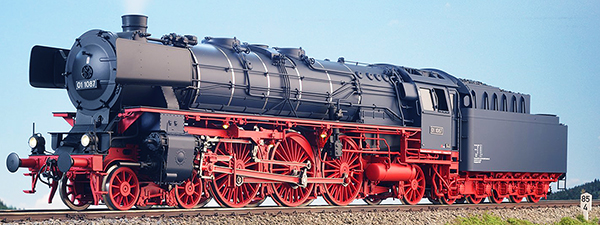 KM1 100104 - BR 01 1087, DB Ep. IIIa, Altbauk. Kohle stahlblau