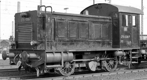 KM1 102204 - German Diesel Locomotive V 20 of the DB (black)
