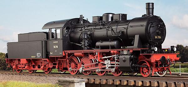KM1 105602 - German Steam Locomotive BR 56 487, DRG Ep. IIc, RBD Mainz Alzey, NEM