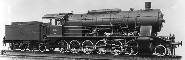 KM1 105908 - German Steam Locomotive BR 59 of the DB