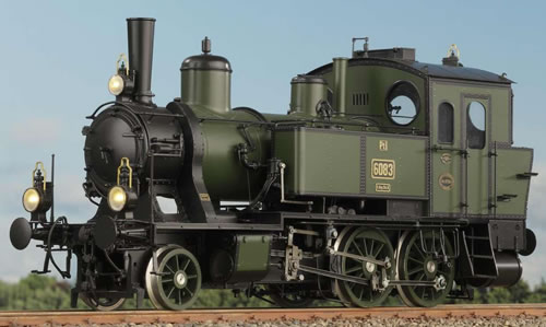 KM1 107021 - German Steam Locomotive 6058, Ep. I, NEM
