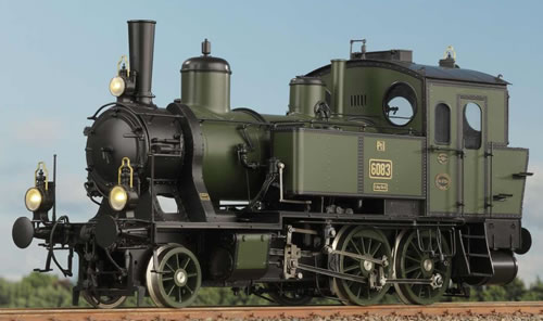 KM1 107022 - German Steam Locomotive 6068, Ep. IIa, GV Bayern, NEM