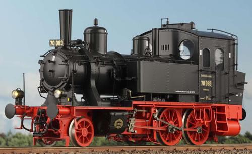 KM1 107023 - German Steam Locomotive BR 70 052, Ep. IIb, Rbd. Regensburg Passau, NEM