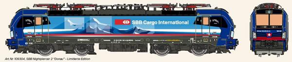 KM1 109304 - Swiss Electric Locomotive VECTRON of the SBB