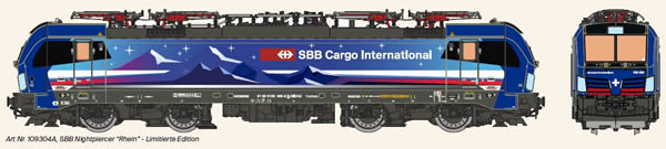 KM1 109304A - Swiss Electric Locomotive VECTRON of the SBB