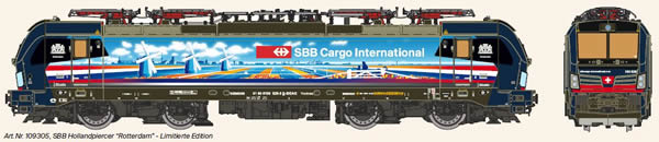 KM1 109305 - Swiss Electric Locomotive VECTRON of the SBB