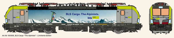 KM1 109306 - Swiss Electric Locomotive VECTRON of the BLS