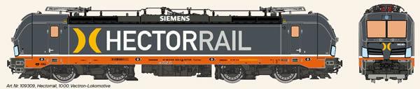 KM1 109309 - Swedish Electric Locomotive VECTRON of Hectorrail