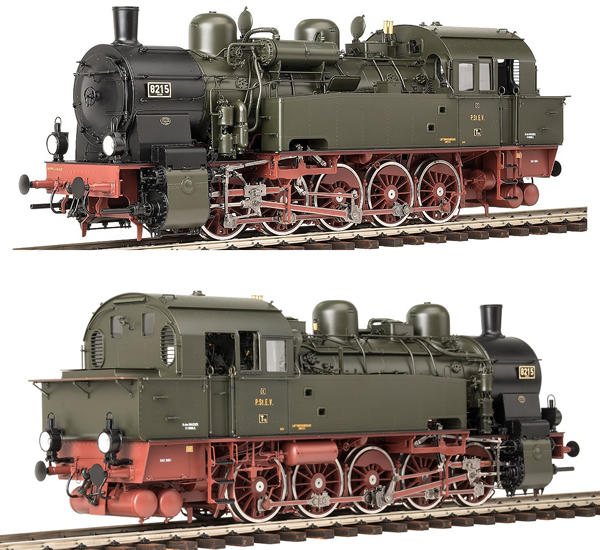 KM1 109421 - German Steam Locomotive 8215 Essen, KPEV Ep. IIa, NEM
