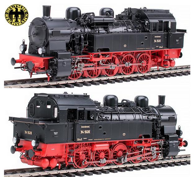 KM1 109422 - German Steam Locomotive BR 94 1620, DRG Ep. II, Rbd Altona, Bw Rothensburgort, NEM