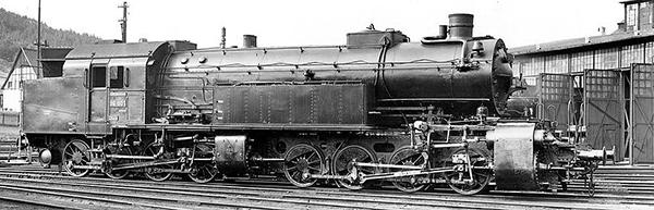 KM1 109602 - German Steam Locomotive Gt 2x4/4 of the K.Bay.St.B