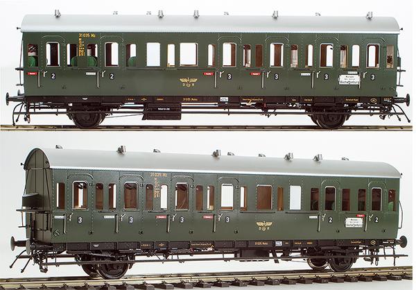 KM1 202101 - German Passenger Einheits-Abteilwagen Coach BC-21, DRG Ep. II, NEM