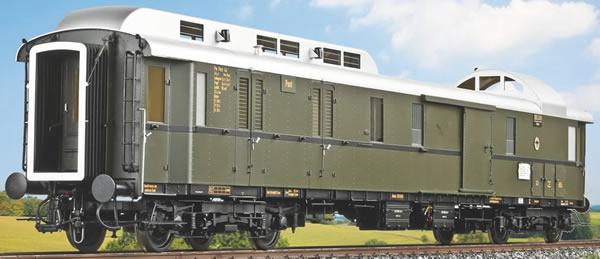 KM1 202821 - German Postal & Baggage Car Class German Postal Car4ü-28, DRG Ep. IIb, NEM
