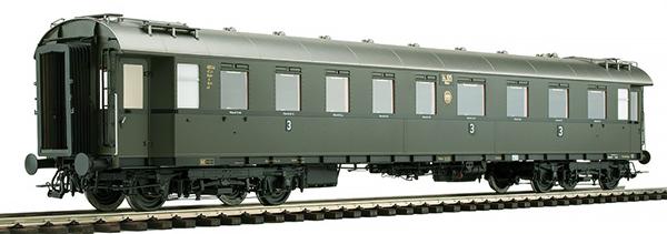 KM1 202843 - German Passenger Coach D 28, C4ü-28, DRG Ep. II, NEM (Different Wagon Number)