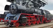 German Steam Locomotive BR 03 1010 of the DR