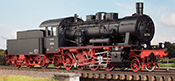 German Steam Locomotive BR 56 487, DRG Ep. IIc, RBD Mainz Alzey, NEM